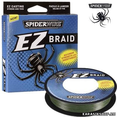 ����� ������� Spiderwire EZ Braid 100 � 0,25 �� 15,3 �� (����: ����-�������) �01-00218